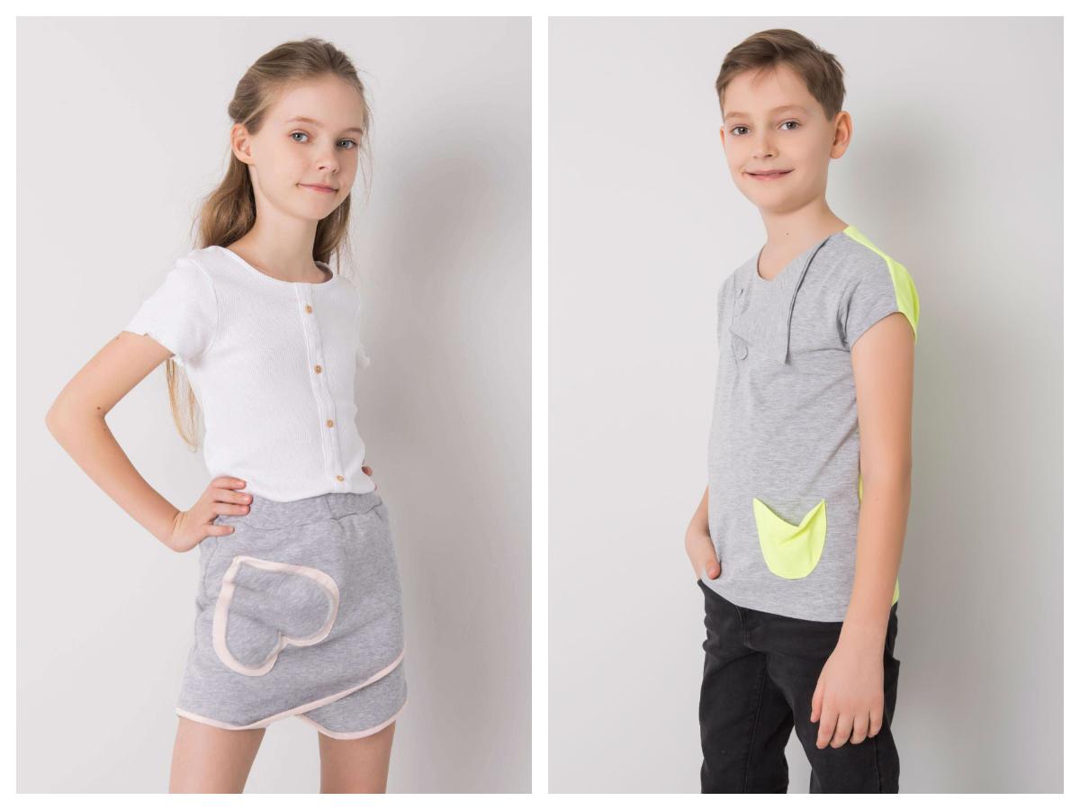 Najlepsze stylizacje dziecięce na wakacje z t-shirtem