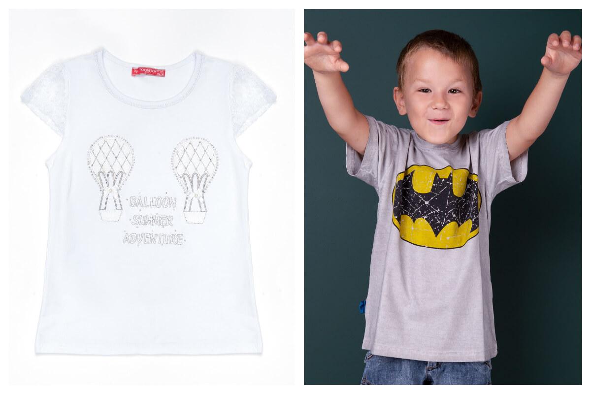 Dziecięce t-shirty dla chłopca i dziewczynki