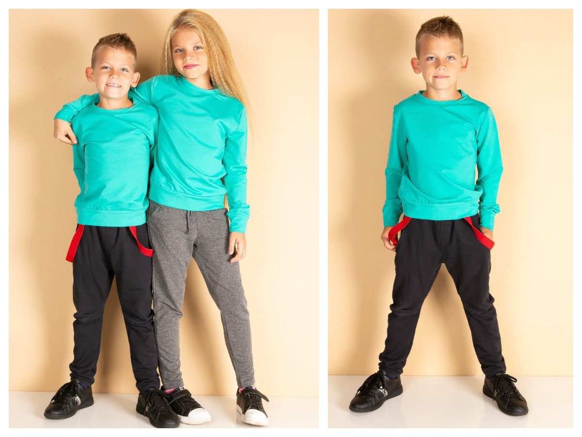 Wygodne dresy dziecięce dla chłopca i dziewczynki